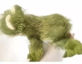 Ganz Webkinz HM001 Green Fuzzy FROG Plush Stuffed Animal Collectible NO CODE - $8.90