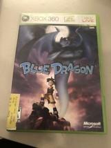 Blue Dragon (Microsoft Xbox 360, 2007) Good, W/MANUAL! Mail It Tomorrow! - $14.85