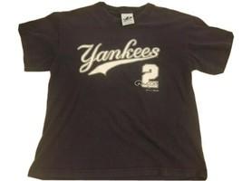 New York Yankees Derek Jeter Jersey Shirt Youth Large MLB NYY Dynasty 20... - $28.41