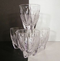 Mikasa Crystal CYCLES Old Fashioned Glass Tumbler (s) LOT OF 4 EUC in Box - $29.69
