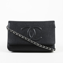 Chanel Caviar Leather Wallet on Chain Shoulder Bag - $2,650.78 CAD