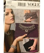 Vogue V9164 Kathryn Brenne Accessories 3 Different Clutch Bags One Size ... - $26.43