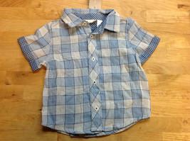First Impressions Baby Boys' Plaid Shirt, Light Granite, Size 18M - $8.90