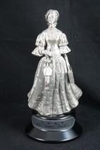 Vintage Silver/Pewter Avon Lady 1992 District Award Trophy - $18.87