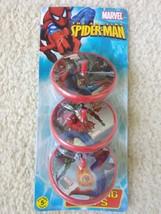Marvel Spider Man Spinning Tops 3 Piece Set Party Favor - $6.70