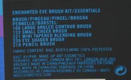 MAC(r) Enchanted Eve Brush Kit 5 Brushes Plus Carry Bag image 9