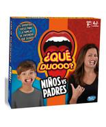NEW~HASBRO~¿Que Dijooo?, Niños contra Padres~JUEGO DE MESA~SPANISH/ESPAñOL - $53.45