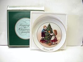 """Vintage Avon Collectors Plate """"Christmas Memories 1982"""" 9 1/4"""" Porcelain Plate - $14.99"""