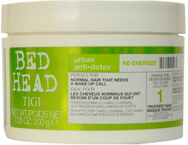 Tigi Bed Head Urban ANTI-DOTES RE-ENERGIZE Treatment Mask 7.05 Oz / 200 G - $17.81