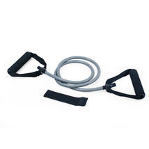 Adeco Single Resistance Band Door Anchor Included - 48 Inch, Gray - $13.29