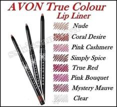 Avon True Color Glimmerstick Lip Liner For Fresh Lips With Creamy Formula - $3.89