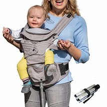 Mamapod All Position 360 Baby Carrier with Support Pole, Adjustable Newborn to T