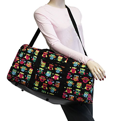 "World Traveler 22"" Duffle Bag, Owl Black"