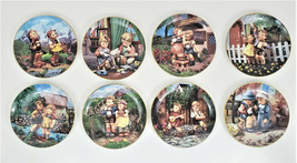 M.J. Hummel Little Companion Collector Plates with Hangers Lot of 8 - $74.75