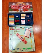 Vintage 1995 Parker Brothers MONOPOLY Deluxe Edition Board Game Gold Tok... - $32.62