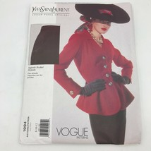 Vogue Yves Saint Laurent YSL size 8 10 12 Sewing Pattern Jacket & Skirt ... - $24.95