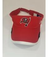 Reebok Tampa Bay Buccaneers Visor Hat Cap Strap Back NFL Football Adjustable - $15.79