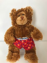 "BUILD-A-BEAR Brown Deluxe 16"" Plush Bear w/ Bearboxers - $12.34"