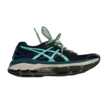 Asics Women's GT 2000 Fluid Ride Running Athletic Shoe Size 6 US Blue Black - $22.63
