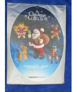Paragon Needlecraft The Christmas Collection Santa Toys Felt Ornament Ki... - $17.81