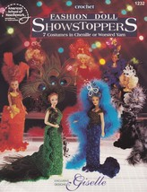 Fashion Doll ShowStoppers, Crochet Doll Clothes Pattern Booklet ASN 1232 NEW - $3.95