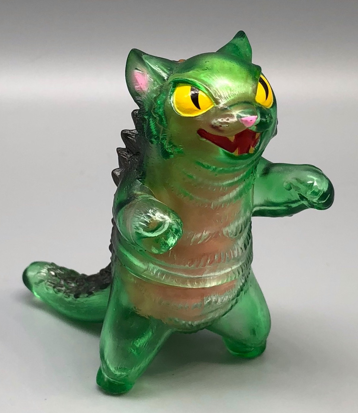 "Max Toy Clear Green Negora w/ ""guts"""