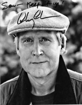 8 x 10 Autographed Photo of Chevy Chase (REPRINT) - $7.99