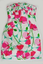 NEW $198 Lilly Pulitzer Franco Had Me a Blast Floral Strapless Dress 0 - $66.00