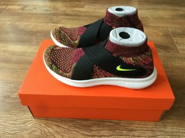Nike Free RN Motion Flyknit 2017 Training Running Shoes 880846 004 Size 8 NEW - $64.52