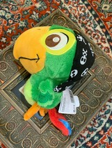 "Disney Parks Jake & The Neverland Pirates Skully Parrot 8"" Stuffed Animal New - $13.46"