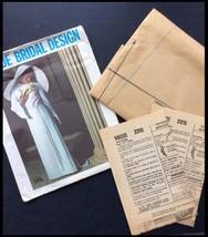 Vogue Bridal Sewing Pattern Vtg 2315 1960s Bride Bridesmaid Formal Dress... - $79.00