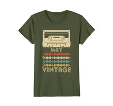Funny Shirts - Vintage Retro Made In May 1943 75th Birthday Gift 75 yrs old Wowe image 2
