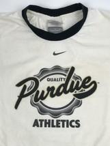 Nike Team Ringer Purdue University Athletics LARGE T-Shirt Vintage - $18.52