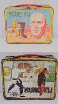 ORIGINAL Vintage 1974 Kung Fu Metal Lunch Box   - $93.14