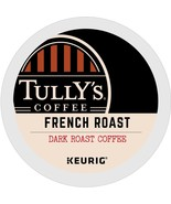 Tully's French Roast Coffee 24 to 96 Keurig K cups Pick Any Size FREE SH... - $19.99+