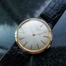 Mens Patek Philippe Calatrava 2591 35mm 18k Gold Hand-Wind, c.1960s Swiss LV882 - $8,879.72