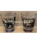 Humorous Cowboy Shot Glasses - $9.75
