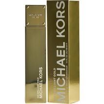 Michael Kors 24k Brilliant Gold By Michael Kors Eau De Parfum Spray 3.4 Oz - $77.32