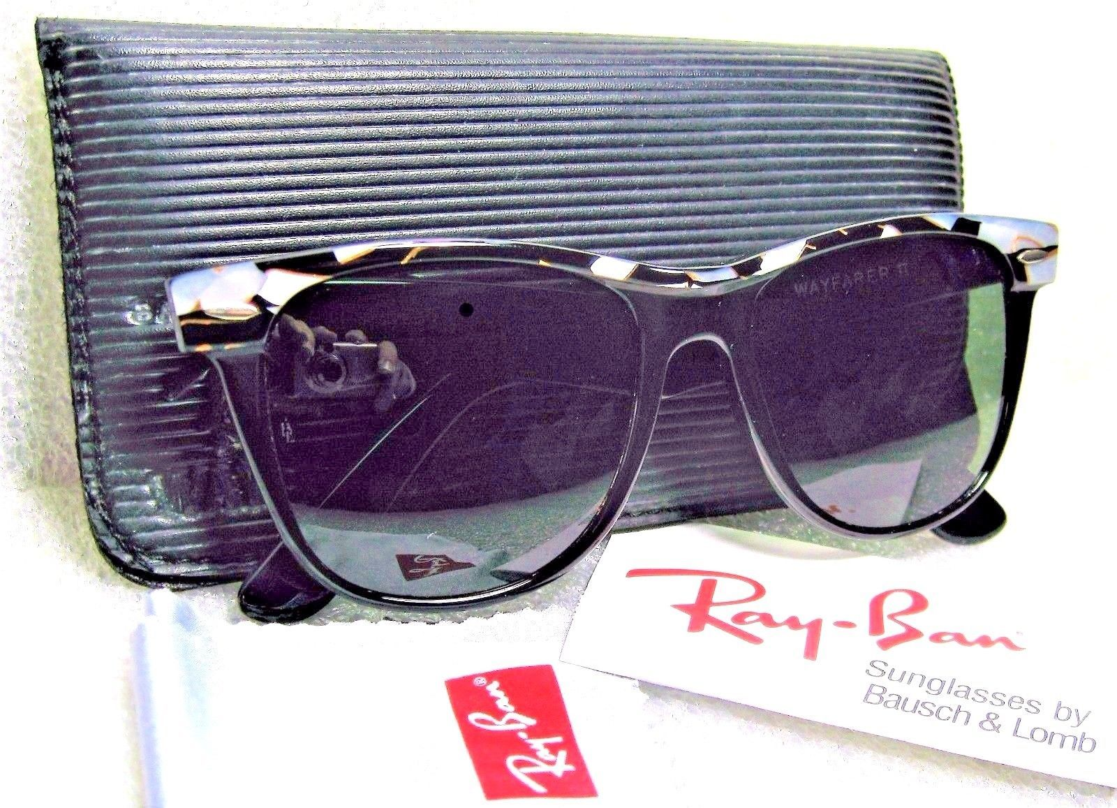 82639da101 Ray-Ban USA NOS Vintage B L Wayfarer II W1089 Street Neat Mosaic New  Sunglasses