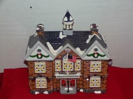 "SUPER SALE -Department 56 Snow Village ""Christmas Lake High School""--rep... - $21.56"