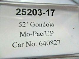 Trainworx Stock # 25203-13 to -18 Mo-Pac/UP Shield 52' Gondola N-Scale image 8
