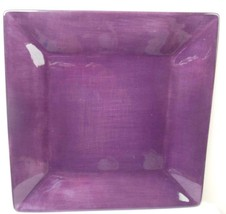 Tabletops Gallery Corsica Plate 10 Inch Square Purple - $18.81