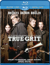 True Grit (2010) (Blu Ray/DVD Combo W/Digital Copy) (Ws/Eng 5.1 Dts-Hd)