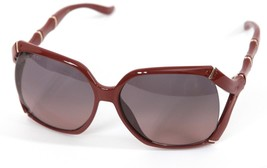 GUCCI Sunglasses Red Brick Gradient Lens Oversized GG0505S - $277.88