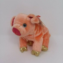 "Ty Beanie Babies Zodiac PIG The Pink Gold Pig with Tag 7"" with Tags - $6.76"