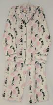 Morgan Taylor Intimates Bubble People Adult Small Pajama Set White Grade B image 1