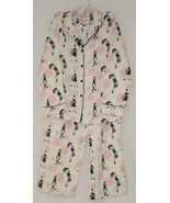 Morgan Taylor Intimates Bubble People Adult Small Pajama Set White Grade B - $16.99