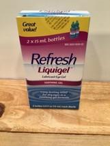 Refresh Liquigel Lubricant Eye Gel Soothing Gel 2 Bottles of 0.5 oz - $20.57
