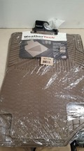 W71TN WeatherTech Trim to Fit Front Rubber Mats for Ford Escape, Tan - $94.95