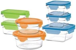 Oven Safe 14pc Bowl Set Glasslock Microwavable Dishwasher Freezer Safe L... - $49.00